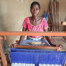 Training for weavers in Burkina Faso