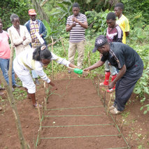 Agricultural training in an isolated region of Cameroon