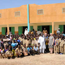 Construction of a high school for 280 students in the village of Zinado – Burkina-Faso
