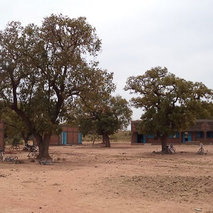 Construction of a lower secondary school in Sanon in Burkina Faso