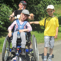 Purchase of an all-terrain wheelchair for children in the north of France