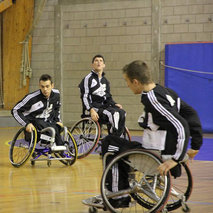 Creation of a wheelchair basketball school