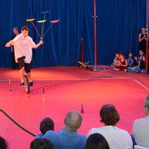 Circus classes for children with disabilities