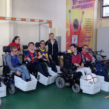 Developing wheelchair soccer in Alsace, France