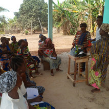 Women micro-entrepreneurs in Benin