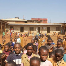 Renovation of a school in Cameroon
