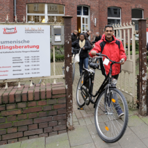 Bikes for refugees in Düsseldorf