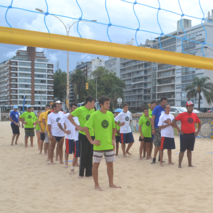 Using volleyball to include the disabled in Uruguay