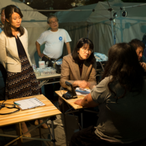 Medical and social assistance for disabled homeless people in Tokyo